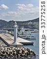 警備艇 灯台 済州島の写真 33775258