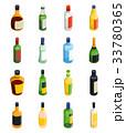 ドリンク お酒 ぶどう酒のイラスト 33780365