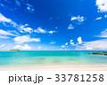 《沖縄県》エメラルドグリーンの美しい海 33781258