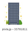 ビル マンション 新築 キラキラ 33781811