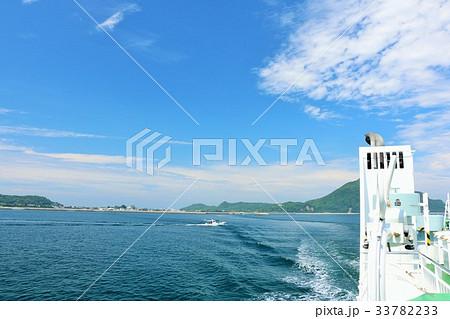 大分県 姫島と定期船 33782233