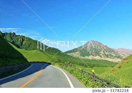 熊本県 阿蘇山と峠道 33782238
