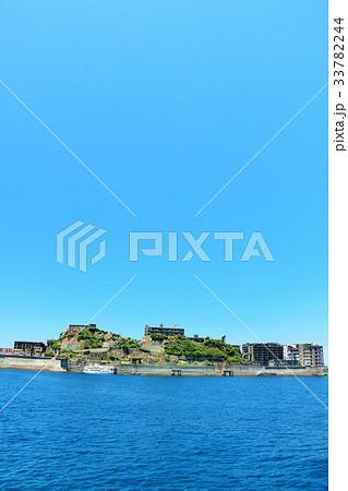長崎県 軍艦島 33782244
