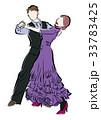 ダンス男女ペア・タンゴ 33783425