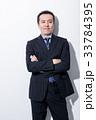 男性 ミドル スーツの写真 33784395