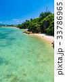夏 沖縄 海の写真 33786965