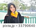 Asian cute women portrait graduation. 33790640