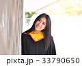 Asian cute women portrait graduation. 33790650