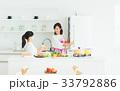 母子(キッチン) 33792886