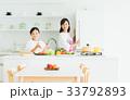 母子(キッチン) 33792893
