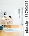 母子 親子 キッチンの写真 33793035