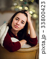 クリスマス ポートレート xマスの写真 33800423