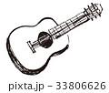 ギター 水彩画 33806626