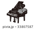 ピアノ 水彩画 33807587