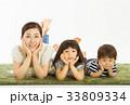 仲の良い親子 33809334
