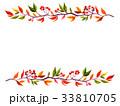 植物フレーム 33810705