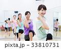 エアロビクス フィットネス エアロビ スポーツジム 女性 エクササイズ 33810731