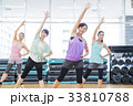 フィットネス スポーツジム 女性 エクササイズ フィットネスクラブ 33810788