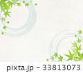 和紙と青もみじ 33813073