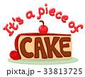 Idiom Piece Of Cake Typography 33813725