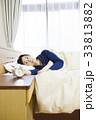 睡眠 女性 眠る 寝る 熟睡 快眠 33813882