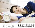 睡眠 女性 眠る 寝る 熟睡 快眠 33813884