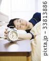 睡眠 女性 眠る 寝る 熟睡 快眠 33813886