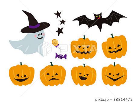 ハロウィン かぼちゃイラストのイラスト素材 33814475 Pixta