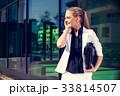 ビジネス 女 女の人の写真 33814507