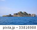 世界文化遺産 軍艦島(端島) 33816988