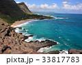 ハワイ オアフ島 海の写真 33817783