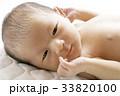 赤ちゃん 人物 新生児の写真 33820100