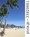 ハワイ 海 ビーチの写真 33820661