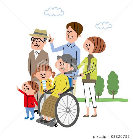 介護 家族 福祉 33820732