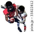 アメリカンフットボール 選手たち アメリカの写真 33822812