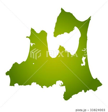 青森県地図 33824003