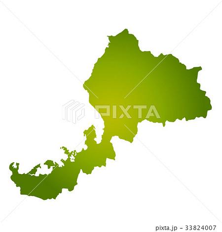 福井県地図 33824007