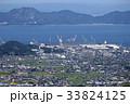 香川県多度津町臨海部を俯瞰する 33824125