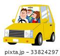 ドライブ 自動車 家族のイラスト 33824297