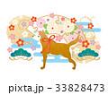 戌年 年賀状素材 戌のイラスト 33828473