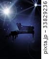 ピアノ ピアノコンサート ピアノ発表会のイラスト 33829236