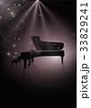 ピアノ ピアノコンサート ピアノ発表会のイラスト 33829241