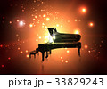 ピアノ ピアノコンサート ピアノ発表会のイラスト 33829243