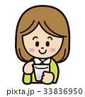 女性 スマートフォン 操作のイラスト 33836950