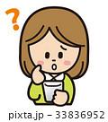 女性 スマートフォン 操作のイラスト 33836952