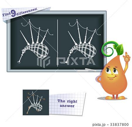 game find 9 differences dawdlingのイラスト素材 [33837800] - PIXTA