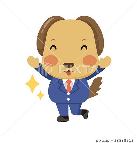 スーツを着た犬 33838213