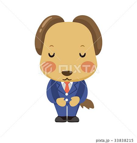 スーツを着た犬 33838215
