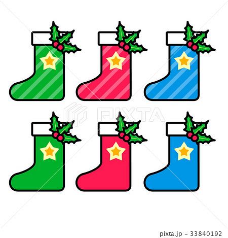 クリスマス ブーツ/くつした 33840192
