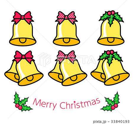 クリスマス ベル 33840193